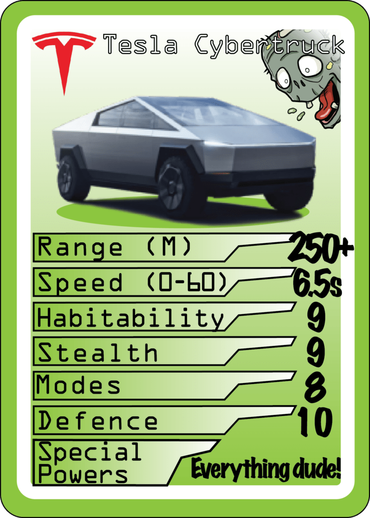 Best EV To Own To Survive a Zombie Apocalypse?